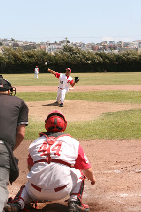 Matt Ko pitched nine innings, giving up only two-earned runs.