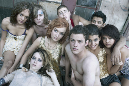"COURTESY OF MTV The cast of MTV's latest series ""Skins"" takes teen depravity to a whole new level."