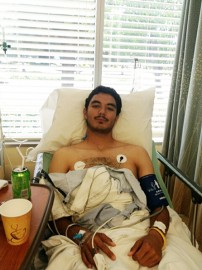 Rams goalkeeper Martin De La Torre has recovered from two injuries to the meniscus of his right knee. Photo courtesy of Martin De La Torre