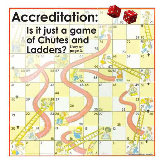 Accreditation: Is it a game of Chutes and Ladders?