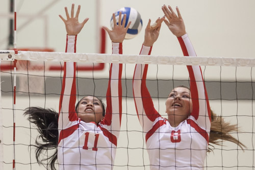 Rams volleyball team shut down by Delta College Mustangs