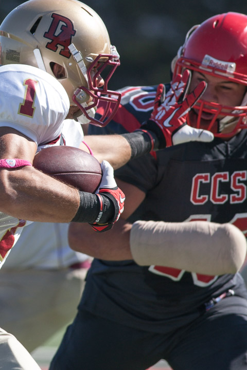 Football: CCSF Rams vs De Anza Dons