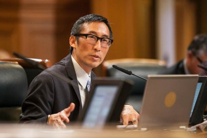 San Francisco District 1 Supervisor Eric Mar chairs a hearing on the importance of City College at a Board of Supervisor's Budget and Finance Committee meeting on Wed., Sept. 18, 2013, at the City Hall of San Francisco, Calif. Photo by Santiago Mejia/The Guardsman