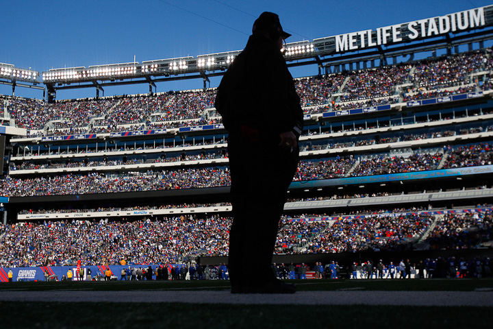 MetLife Stadium Dec. 30, 2012, in East Rutherford, New Jersey. Photo courtesy of David Maialetti/Philadelphia Daily News/MCT