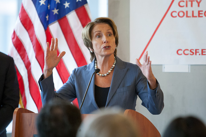 Pelosi decides to join the fight