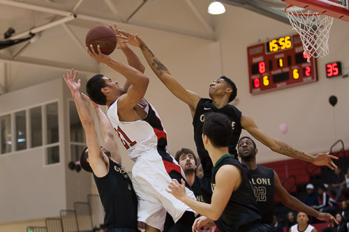 Men's Basketball: CCSF Rams vs Ohlone College Renegade