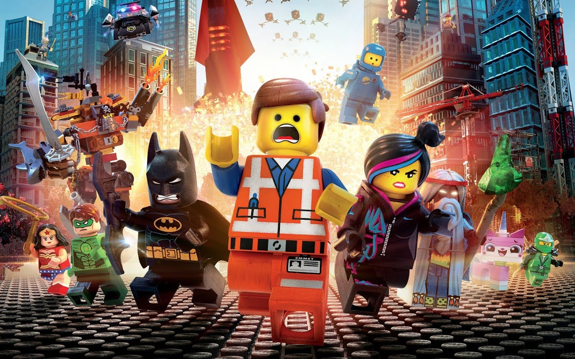 Legos save the world in new 3-D film