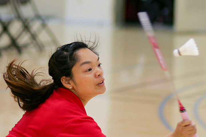 Photo: Rams badminton team beats Skyline Trojans