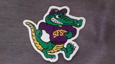 San Francisco State University's Gator mascot