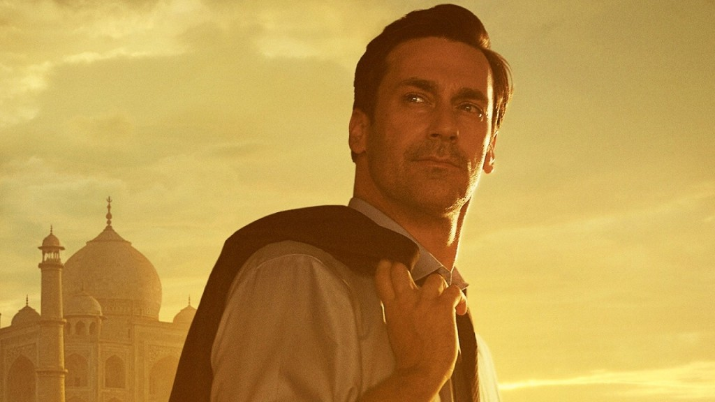 "Jon Hamm as J.B. Bernstein in Disney's ""Million Dollar Arm."" Photo courtesy of Walt Disney Studios."