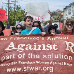 Hundreds participate in 9th annual Walk Against Rape