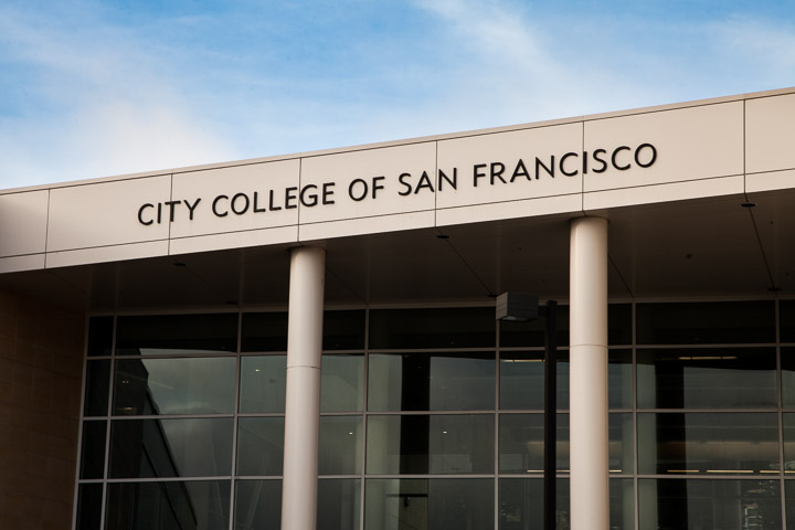 File Photo - City College of San Francisco's Ocean campus, December 2, 2014. Photo by Santiago Mejia/The Guardsman