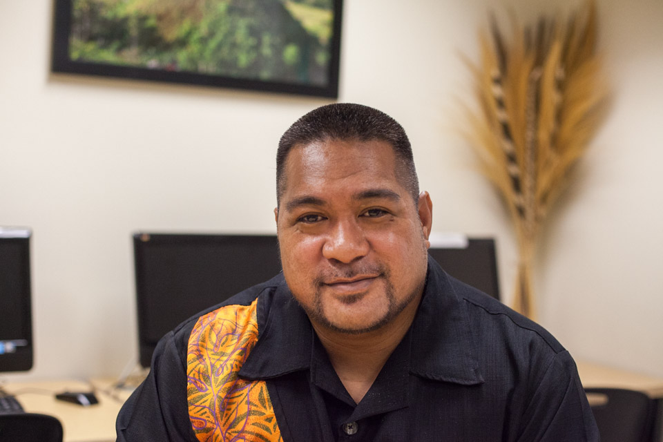 Professor David Ga'oupu Palaita