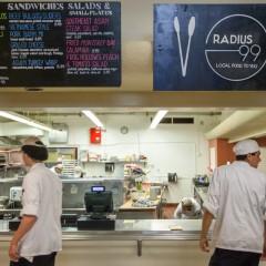 Radius 99, new restaurant plays it local