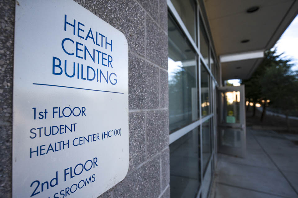 The Student Health Center located on the corner of Phelan Avenue and Judson Avenue at the Ocean Campus is currently screening all patients for Ebola. October 27, 2014 (Photo by Nathaniel Y. Downes )
