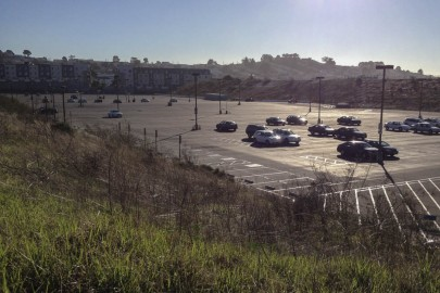 The struggle continues as officials figure out what to do with Balboa Reservoir, located at 50 Phelan Avenue, which is currently used as overflow parking lot for City College students at Ocean campus. (Photo by Khaled Sayed)