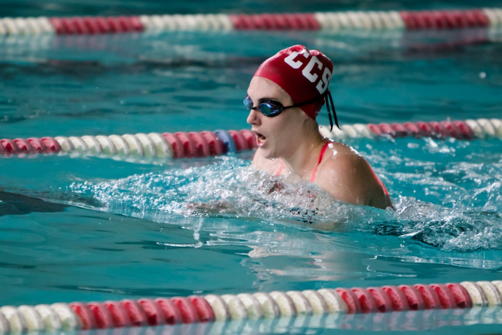 Swimming CSM Foothill Chabot Feb06 photo by Peter Wong