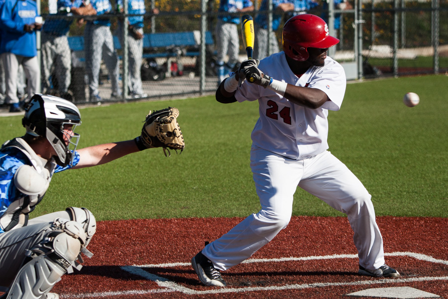 San Francisco City College vs. Contra Costa College baseball game on Jan 29, 2015 Photo by Khaled Sayed