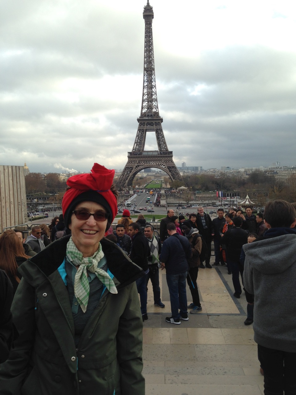 City College Student Protests Labor Rights Standards at COP 21