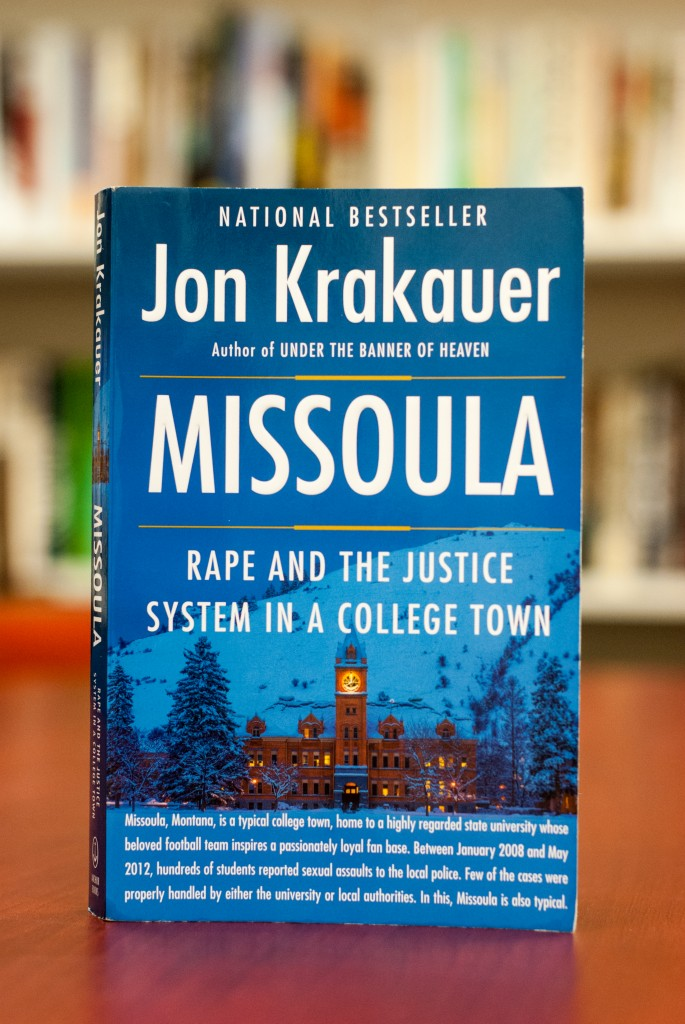 Jon Krakauer's newest book is a national bestseller. (Photo by Franchon Smith/The Guardsman)