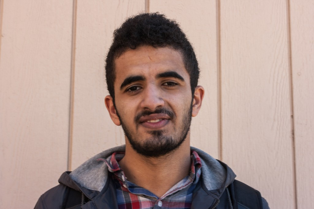 Ahmed Duvaih, 19, Mechanical Engineering major