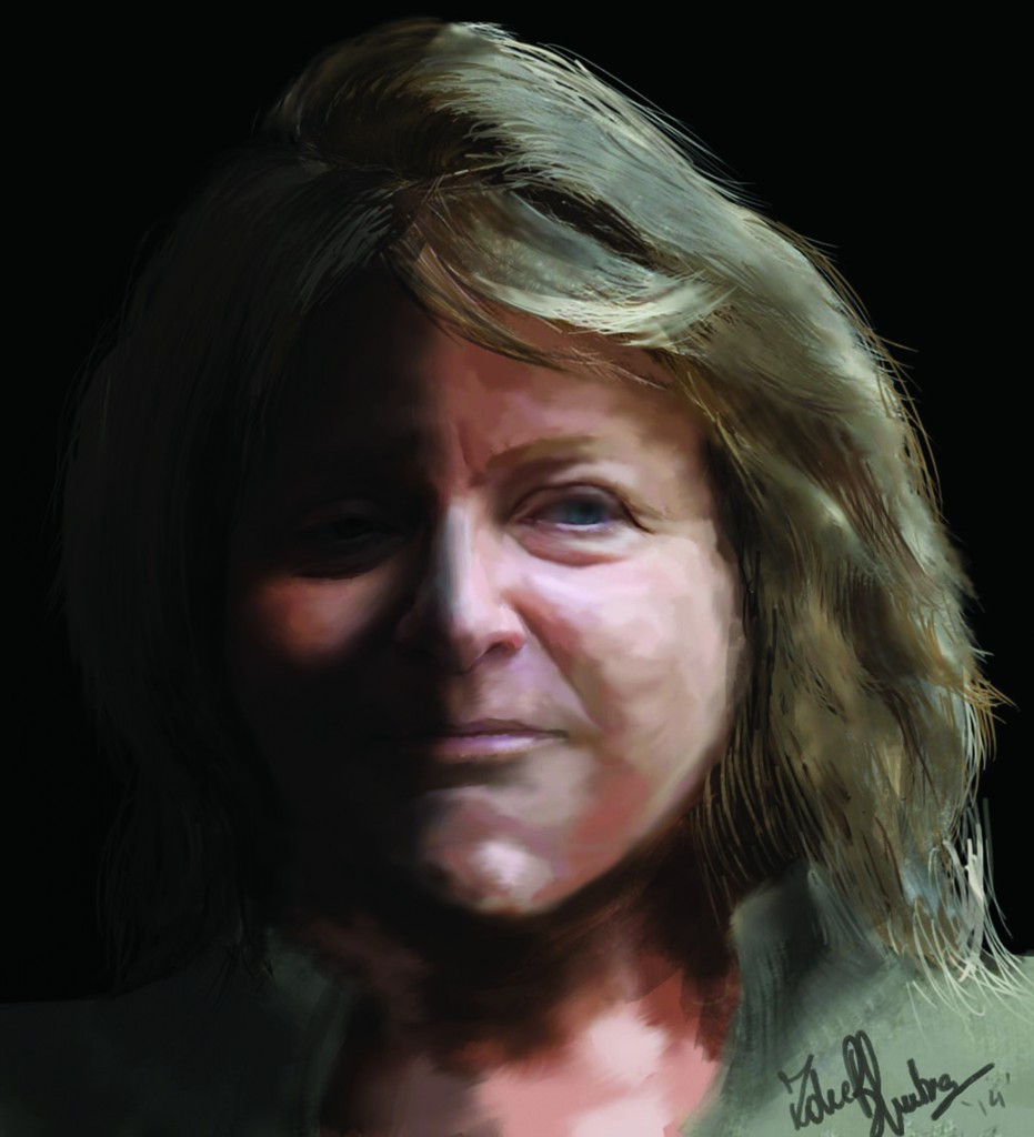 Accrediting Commission for Community and Junior Colleges President Barbara A. Beno. (Illustration by Zoheb Bhutia