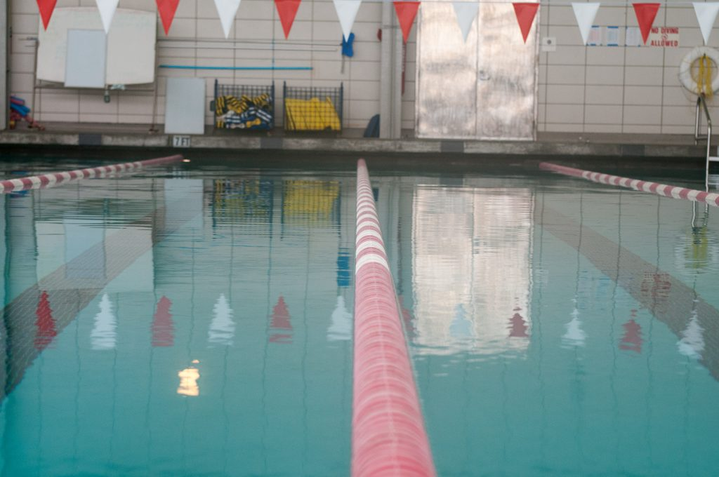 The Wellness Center swimming pool will be open for summer classes. (Photo by Franchon Smith/The Guardsman