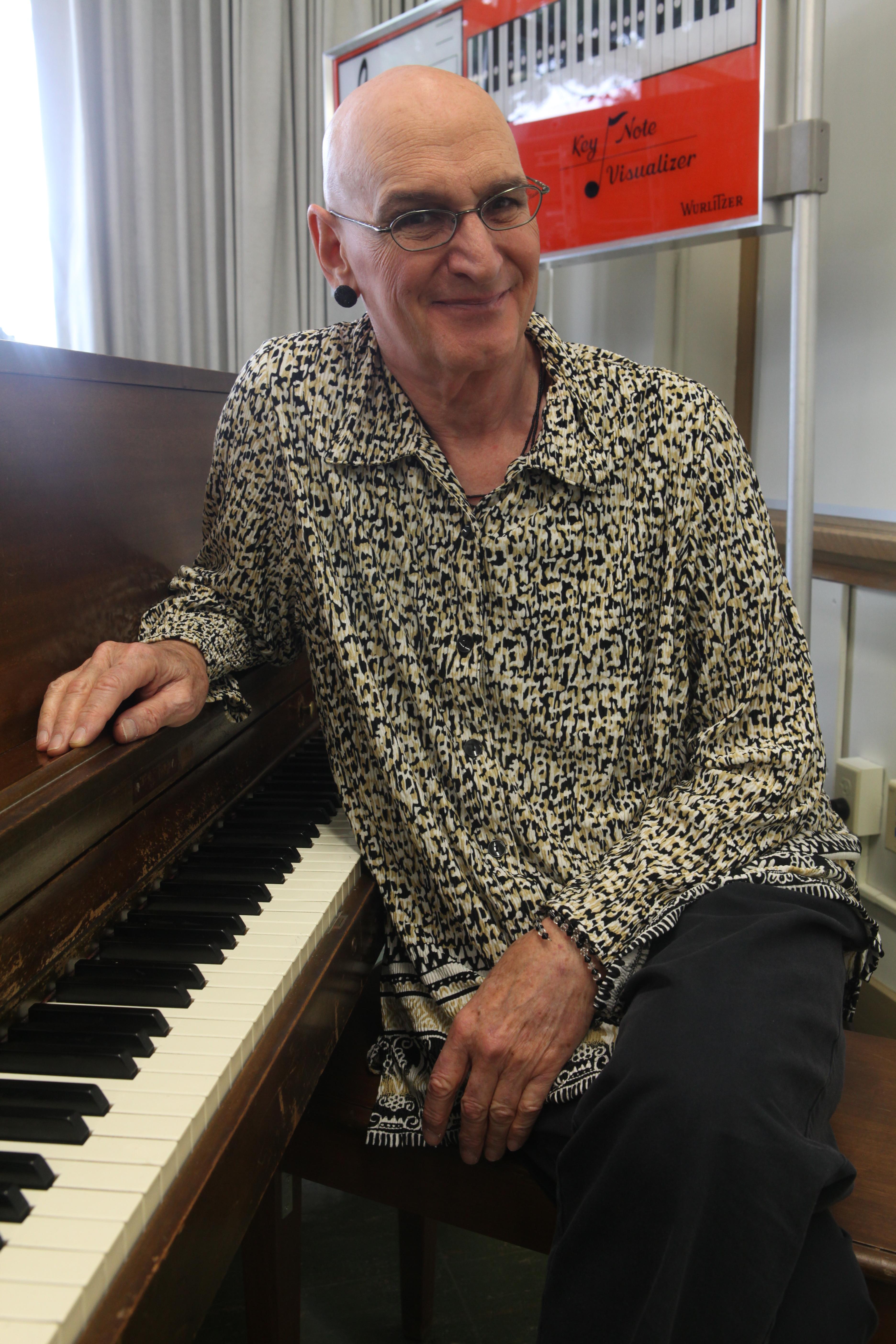 Ms. Bob Davis has been a City College music teacher since 1976