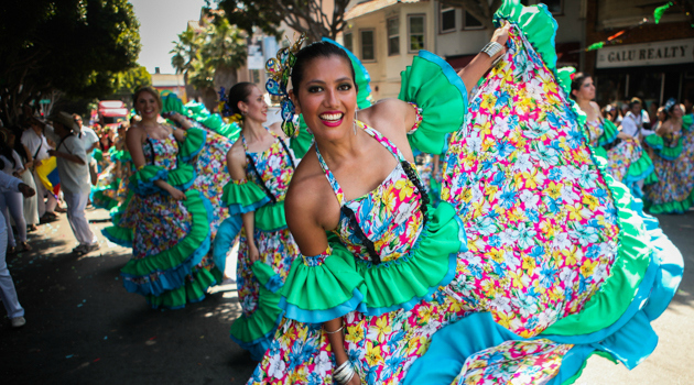 Dazzling San Francisco Carnaval Parade Wows Thousands in Loving Tribute to Mother Earth