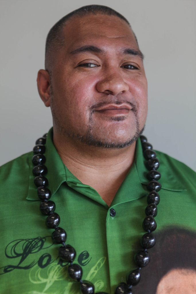 Professor david Palaita of the Interdisciplinary Studies department is the first Pacific Islander to be promoted to full-faculty at City College. (Photo by Cassie Ordonio/The Guardsman)
