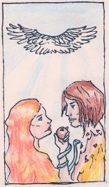 The Lovers, illustrated by Auryana Rodriguez