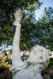 Sculpture in the Ornamental Horticulture garden at CCSF on Wednesday 23, 2016. Photo by Gabriela Reni/ The Guardsman.