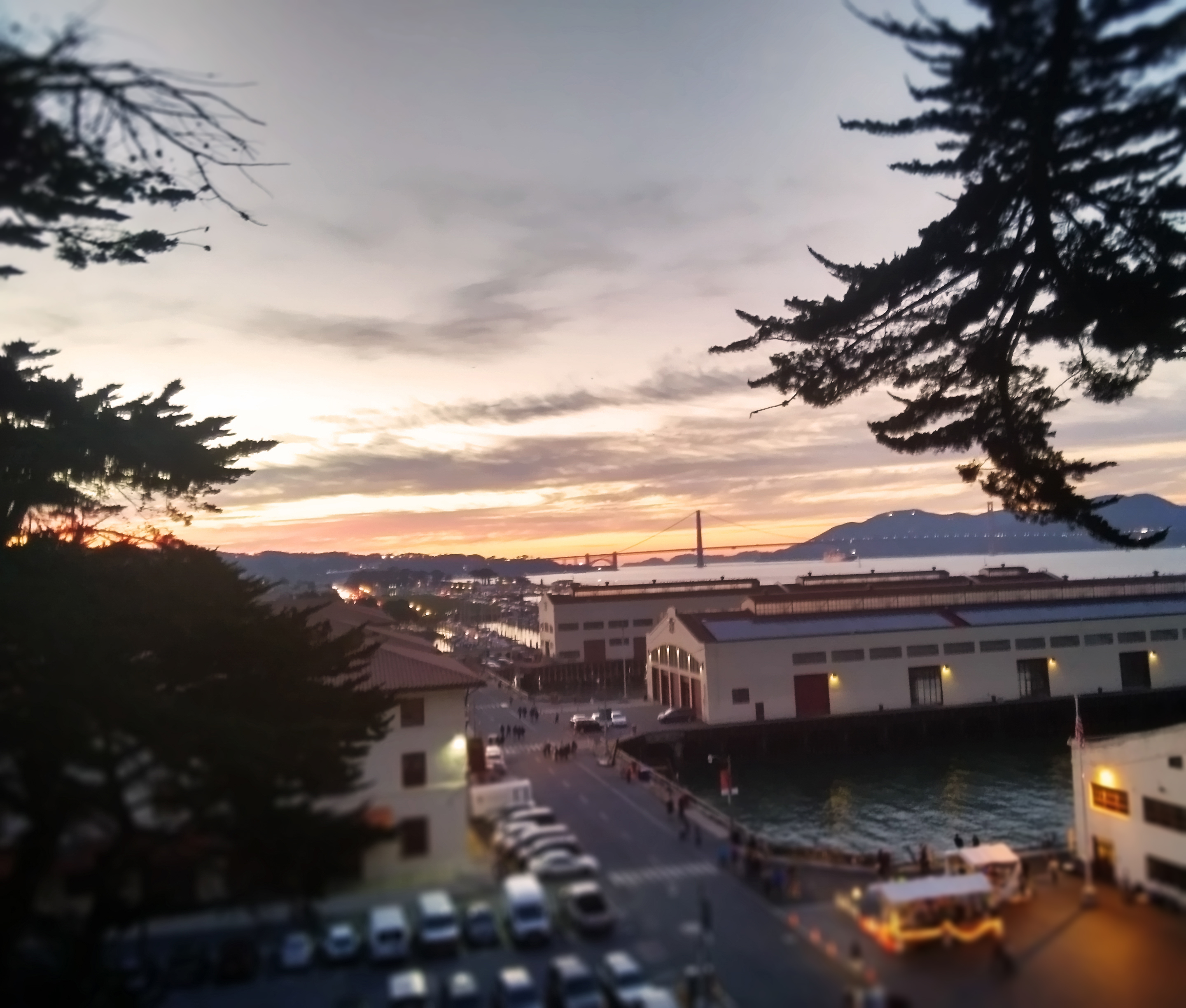 Surrounded by some of San Francisco's most iconic landmarks Fort Mason inspires City College students with its amazing scenery. Photo by Elena Stuart/The Guardsman