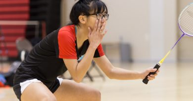 City College crushes Mission in Badminton