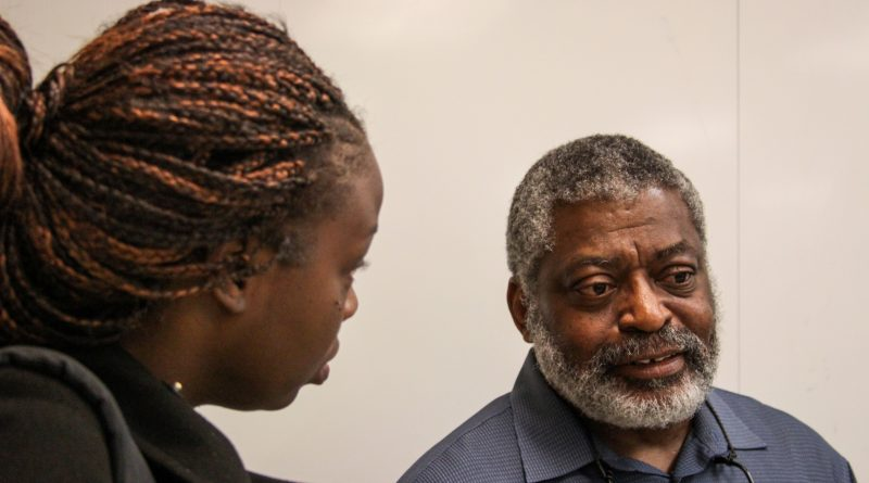 City College Psychology Professor Dr. Terry Day works closely with his students who are often inspired by his experiences.