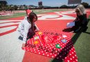 """The Monument Quilt"" pops up at CCSF football field to fight against rape culture"