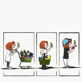 Illustration by Elena Stuart.