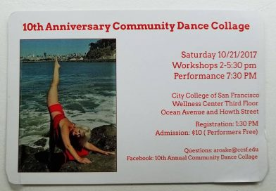 This Saturday! 10th Annual Community Dance Collage