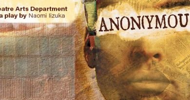 "CCSF Theater dept. presents ""Anon(ymous)"""