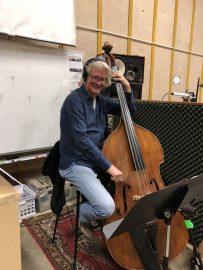 Simon Planting on Bass. Photo by Dana Jae Labrecque.
