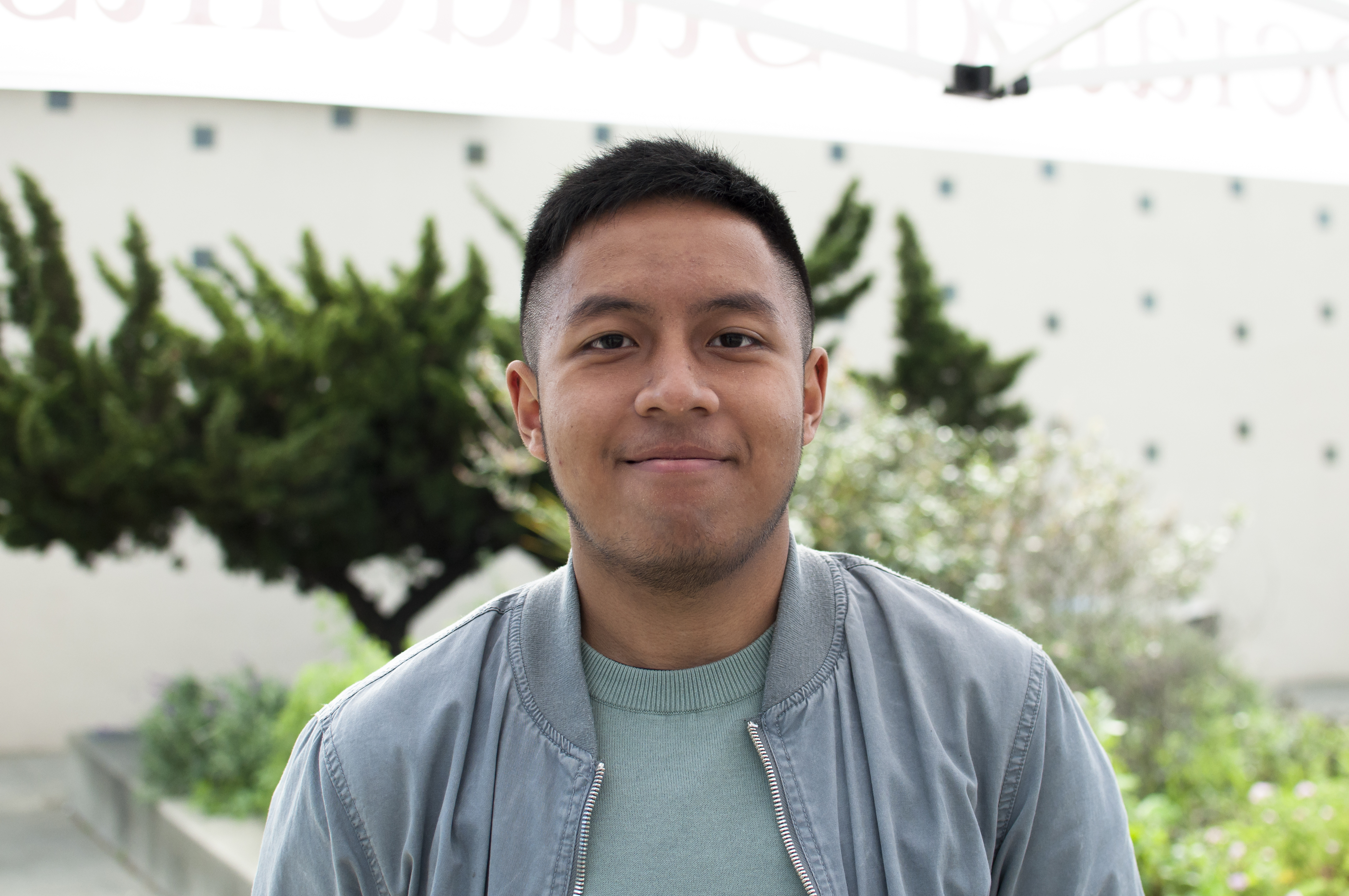 """It's a cheaper alternative than going straight to university from high school. I chose this school specifically because I like the city, the environment and I have some family living here. There's also a lot of students that come from my country, Indonesia."" -Raafi Laksana Business Administration, Sophomore"