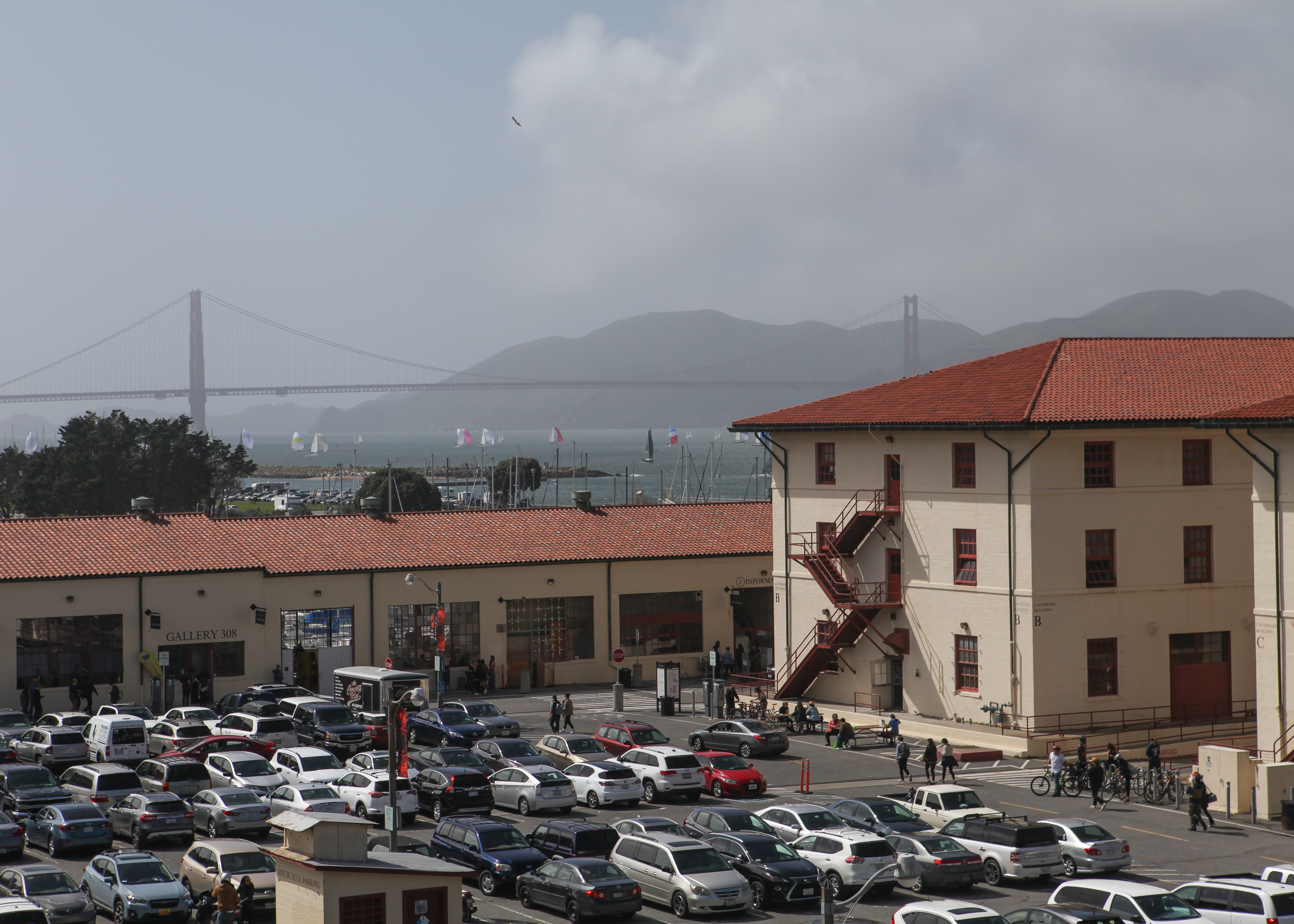 City College's Fort Mason Campus at Marina Blvd Larndmark Building B on April 7, 2018. (Photo by Cassie Ordonio)