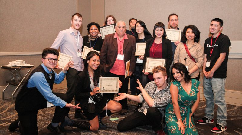 Journalism students from The Guardsman and Etc. Magazine win awards during the Journalism Association of Community Colleges State Convention on Saturday, March 24, 2018 in Burbank, Calif.