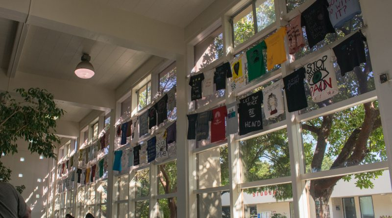 Amid a climate of skepticism, survivors of violence use t-shirts as a medium