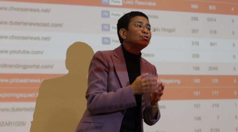 Reclaiming the Truth: Press Freedom with Maria Ressa