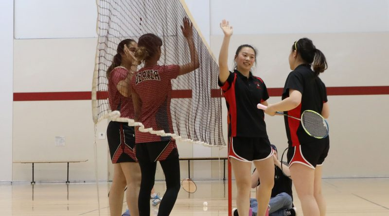 City College Badminton team closing in on the end of the season